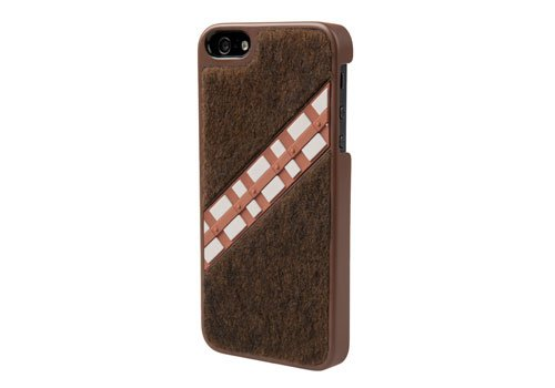 save off 5561c 46999 POWER A CPFA100405 Star Wars Chewbacca Collector Case for iPhone 5 - 1 Pack  - Retail Packaging - Brown