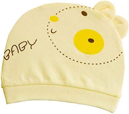 Xuxuou 1 Pieza Bebé Sombrero de Algodón Patrón Lindo Conejito Gorro de  Verano size 13   16cm (Amarillo)  Amazon.es  Bebé d80910b682d