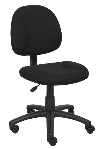 Boss Office Products Adjustable DX Fabric Posture Chair in B