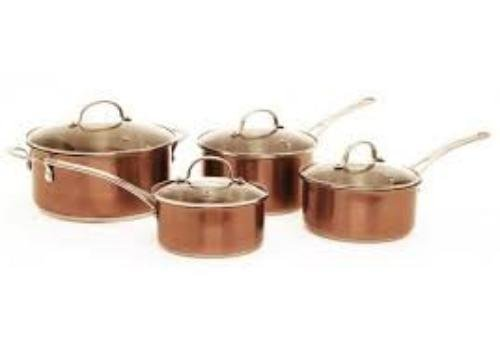 STARFRIT | 50th Anniversary Edition | Stainless Steel Cookware Set | Copper Tone Finish