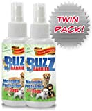 BuzzEnder All Natural Mosquito Protection For Dogs – (Twin Pack) – Keeps Insects Away From Your Dogs Safely and Effectively, My Pet Supplies