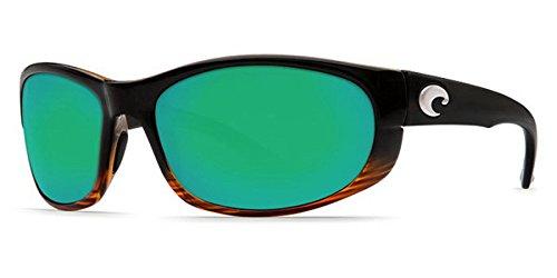 Costa Del Mar Howler Sunglasses, Coconut Fade, Green Mirror 580 ()