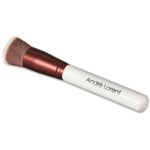h - Luxury Kabuki Vegan Makeup Brush. Fashionable Design By Andre Lorent (Best Kabuki Brush)