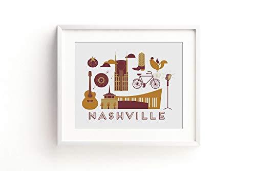 (Nashville Art Print)