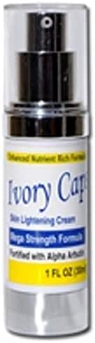Ivory Caps Skin Lightening Cream Mega Strength Formula Fortified with Alpha Arbutin 1 Fl oz