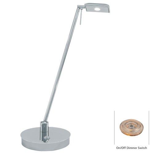1 Light LED Table Lamp Finish: Chrome