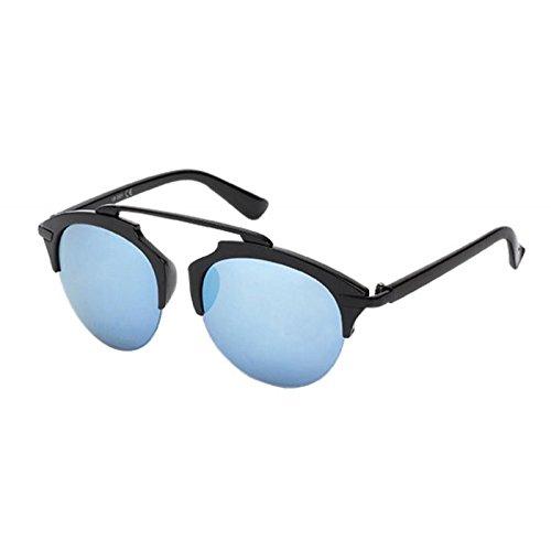 Chic-Net Gafas de sol retro Gafas UV forma Zwicker 400 de ...