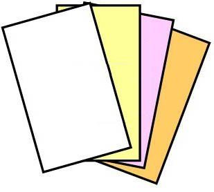 125 Sets (1 Ream) of 4 Part Legal Size Reverse Collated NCR Paper by NCR by NCR