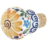Polish Pottery Butterfly Wine Cork