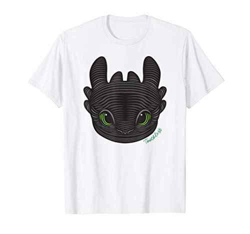 How to Train Your Dragon 3 Hidden World Toothless T-shirt Dragon Womens Pink T-shirt
