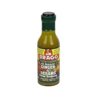 Bragg's Ginger & Sesame Salad Dressing 12 OZ(Pack of 3)
