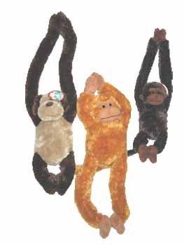 Plush Pull Arm Monkeys - Plush Pull Arm Monkeys Case Pack 24 , Kid ,Toy , Hobbie , Nice Gift