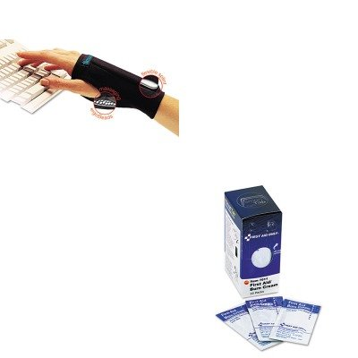 KITFAO7011IMAA20127 - Value Kit - IMAK PRODUCTS SmartGlove Wrist Wrap (IMAA20127) and FIRST AID ONLY, INC. Burn Cream (FAO7011) by Imak Products
