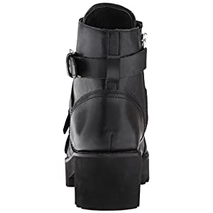 Ash Women's Razor Fashion Boot, Black, 39 M EU (9 US)