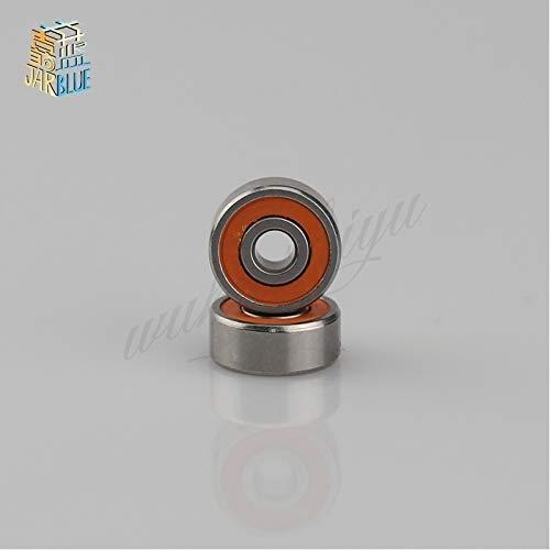 (Fevas 2pcs 10x19x5mm Stainless Steel Hybrid Ceramic Ball Bearing S61800 2RS CB / S6800 2RS ABEC7 Fish Reels)