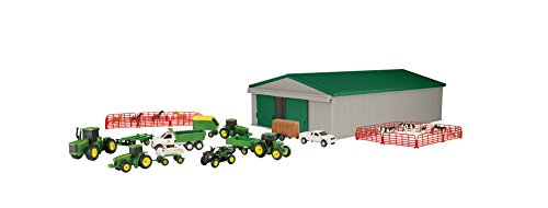 John Deere Die-cast Farm Toy 70Piece Value Playset from ERTL
