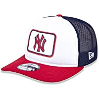 BONE 950 A-FRAME NEW YORK YANKEES MLB ABA RETA SNAPBACK BRANCO/MARINHO NEW ERA