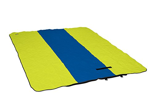 ENO - Eagles Nest Outfitters LaunchPad Double Blanket, Blue/Bright Green (Outfitters Blanket Nest Eagles)