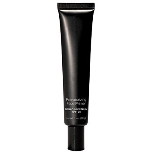 Canvas Face Foundation (Retexturizing Face Primer SPF 20 - Creates A Perfect Canvas For Flawless Foundation Application That Lasts All Day - Fills in Fine Lines - For Normal Skin Type)