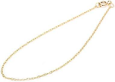 14金ゴールドフィルド ブレスレット 14KGF ルーズロープチェーン ゴールド