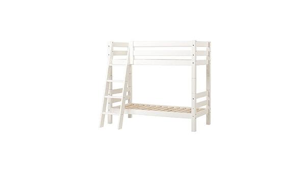 Litera XXL superficie: 70 x 160 cm, colour: blanco, somier ...