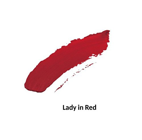 Liquid Matte Lips - Long Wearing Lip Color (Lady in Red 103) by Jolie (Image #1)