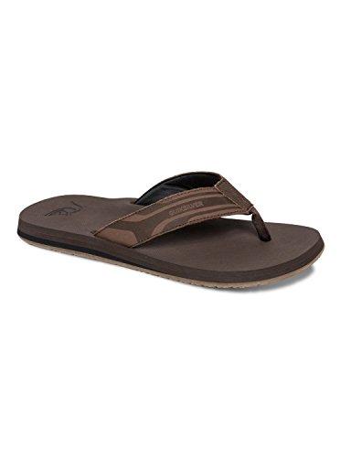 Quiksilver Men's Monkey Oasis Sandal, Demitasse Solid, 7 M U