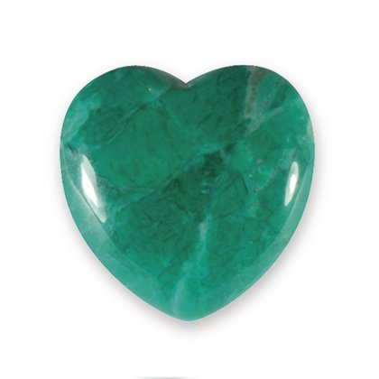 Malachite Howlite Mini Crystal Heart - 2.5cm
