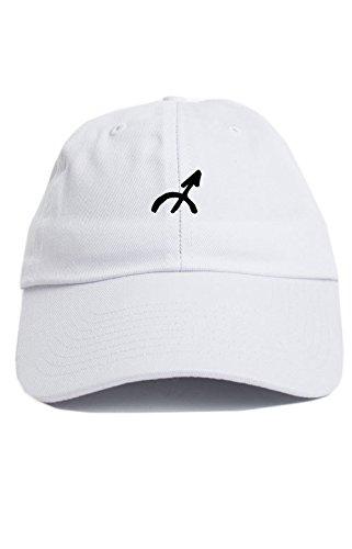 Sagittarius Zodiac Sign Symbol Unstructured Baseball Dad Hat New