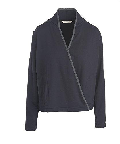 (Woolrich Women's Bur Basin Merino Wool Blend Cardigan, BLACK, Size XL)