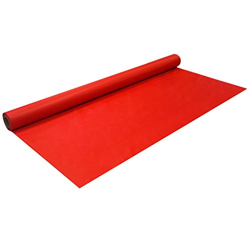 Party Essentials Heavy Duty Plastic Banquet Table Roll Available in 27 Colors, 40