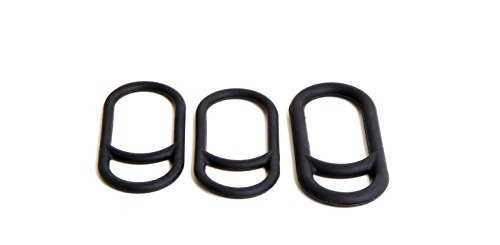 Magicshine MJ-6015 O-Rings Handlebar Mount Durable and Robust | Quick and Easy to use | 1 Size to fit Most Handlebars | 2 Small Rings to Mount Remote Button & Tail Light