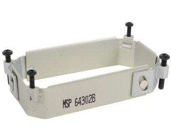1 Pc, Clamp/Arinc, Size: 2.175 X 3.175, Depth: 1, Aluminum, Anodized Finish. To Make Retrofits Simpler And Faster