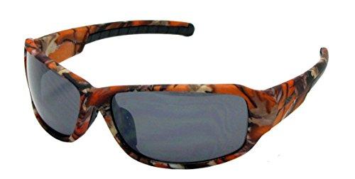 ciclismo Smoke de aire libre pesca Lens blanco color y caza Gafas para VertX al marrón running los diseño de y Camo de camuflaje de de negro naranja Orange qFBYUt