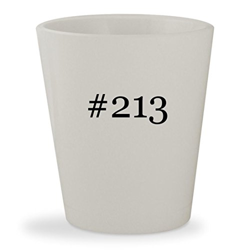 Price comparison product image 213 - White Hashtag Ceramic 1.5oz Shot Glass