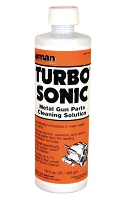 Lyman Turbo Sonic Gun Parts Cleaning Solution 16oz by Lyman