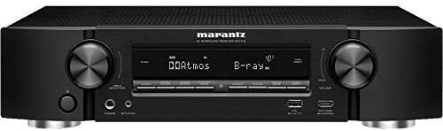Marantz NR1710 UHD AV Receiver 2019 Model Slim 7.2 Channel Amp Wi-Fi, Bluetooth, HEOS Alexa Auto Low Latency Mode for Xbox One Immersive Movies, Music Gaming Smart Home Automation