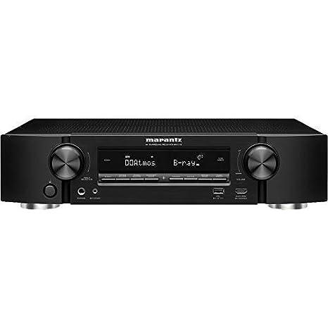 Marantz NR1710 UHD AV Receiver (2019 Model) – Slim 7 2 Channel Amp | Wi-Fi,  Bluetooth, Heos + Alexa | Auto Low Latency Mode for Xbox One | Immersive