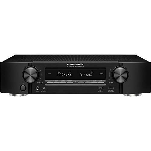 Marantz NR1710 UHD AV Receiver (2019 Model) - Slim 7.2 Channel Amp | Wi-Fi, Bluetooth, Heos + Alexa | Auto Low Latency Mode for Xbox One | Immersive Movies, Music ()