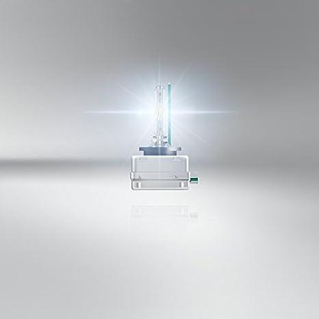 OSRAM XENARC NIGHT BREAKER UNLIMITED D3S HID, lámpara de xenón, lámpara de descarga, 66340XNB, estuche (1 unidad): Amazon.es: Coche y moto