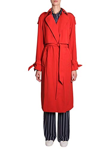 Trench Kors Michael - MICHAEL BY MICHAEL KORS Women's Mh82hu86bz887 Red Polyester Trench Coat