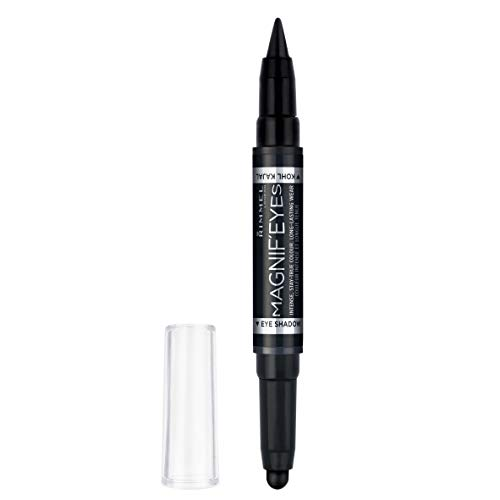 Rimmel Magnifeyes Double Ended Shadow and Eye Liner, Back To Blacks, 0.05 Ounce
