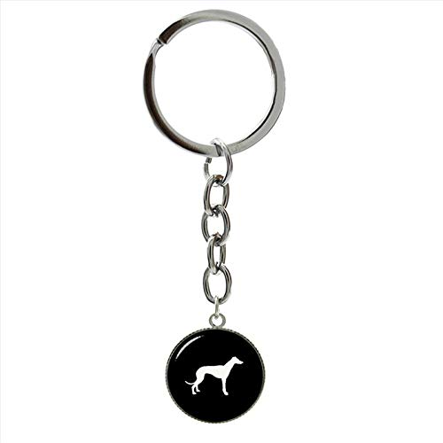 (Key Chains - Cute Scottish Terrier Key Chain Vintage Lovely pet Dog Art Silver Plated Keychain Gifts Cool Men Women Jewelry T504 - by NTNH12-1 PCs)