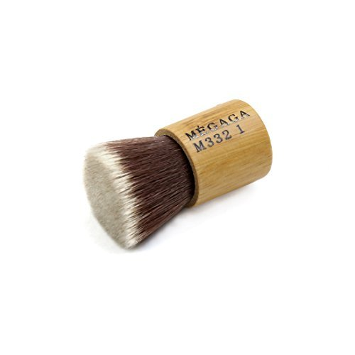 eDealMax 5 cm Longitud Mini Cerda Peluquera Corte del Pelo de la herramienta de limpieza Facial polvo Brocha de afeitar