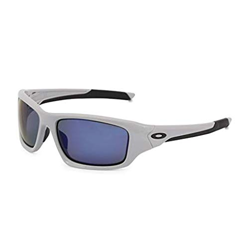 Oakley Valve Men's Sunglasses, Cool Grey Deep Blue ()