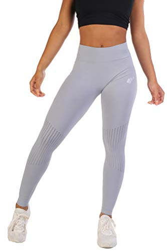 87601c7714d Jed North Women s Seamless Athletic Gym Fitness Workout Leggings ...