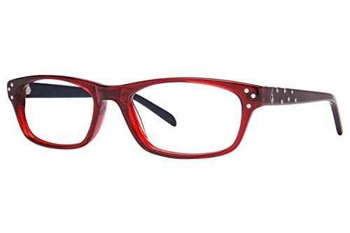 Baby Phat B0248 Women's Eyeglass Frames - Red ()