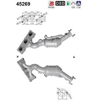 AS SL 15730D Catalytic Converter