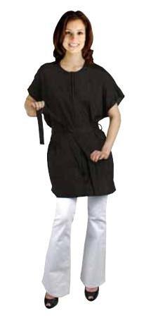 Salonchic Nylon Crinkle Stylist Jacket (Black) (Crinkle Nylon Jacket)