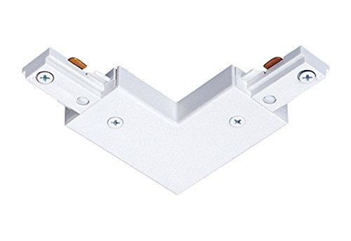 Juno Lighting R24WH Adjustable Connector, (Rail Track Connector)